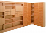 hansa regalsysteme in stahl und holz hansen regalbau. Black Bedroom Furniture Sets. Home Design Ideas