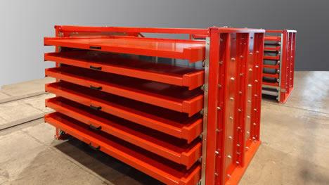 schmidt auma lagersysteme umlauflager umlaufregal blechlager uvm bei. Black Bedroom Furniture Sets. Home Design Ideas